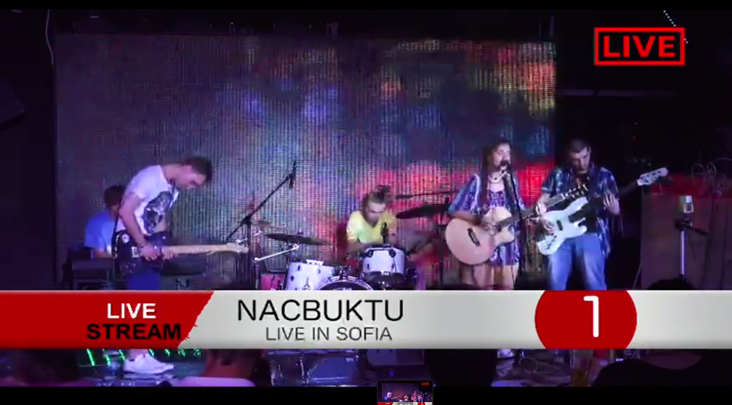 "Nacbuktu – ""New Ways"" live @ Playground Club, Sofia"